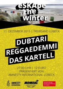 Plakat eSKApe the winter